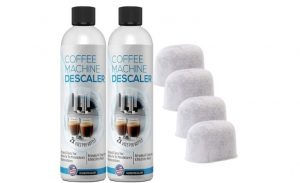 Coffee Machine Descaling Solution Plus 4 Filters