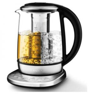 Aicook Electric Tea Kettle with One Touch Temperature Control