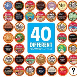 Two Rivers Coffee Flavored Coffee Pods Variety Pack Sampler